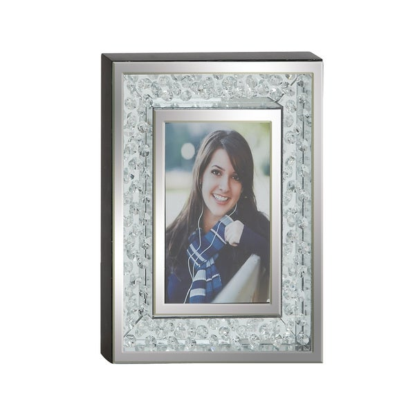 UMA Mirror Silvertone Photo Frame