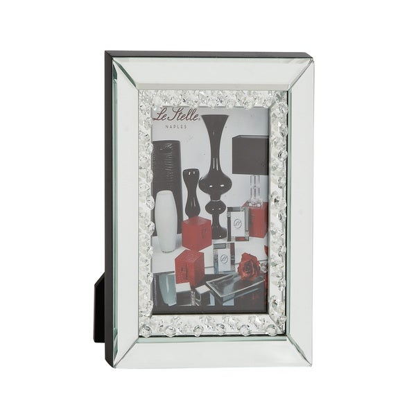UMA Silvertone Mirror Photo Frame