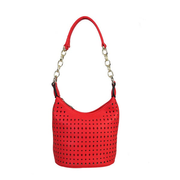 Diophy Laser Cut Tote Handbag