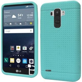 Insten Rugged Silicone Skin Gel Rubber Phone Case Cover For LG G Stylo