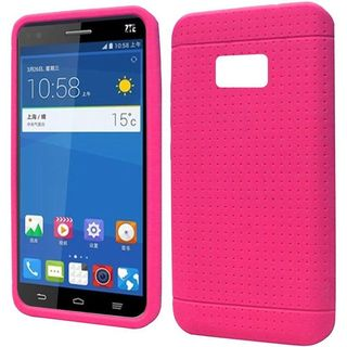 Insten Rugged Soft Silicone Skin Rubber Phone Case Cover For ZTE Paragon/ Zephyr