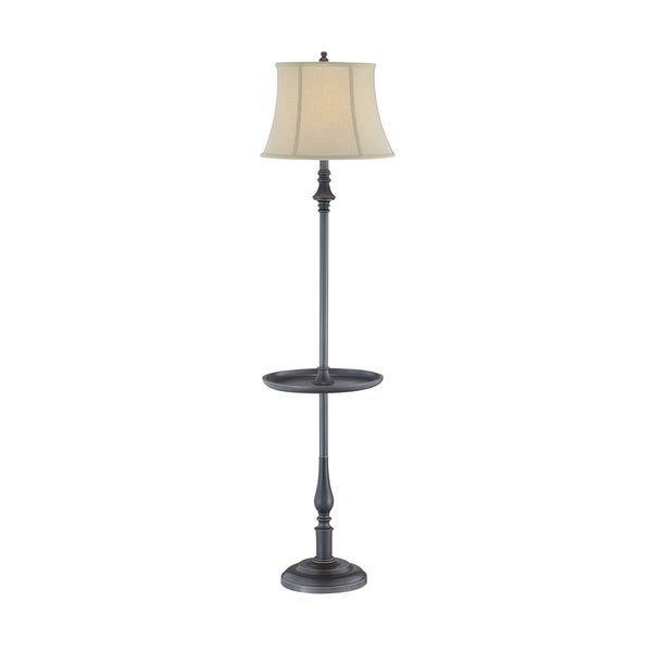 Lite Source Laurence Floor Lamp with Tray Table