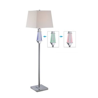 Lite Source Cicely Floor Lamp with LED Night-light
