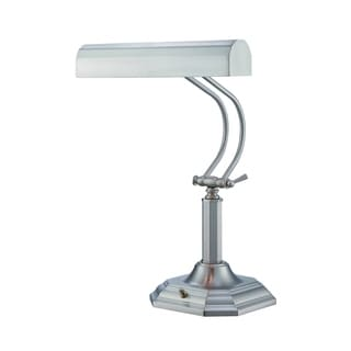 Lite Source Piano Mate Piano Desk Lamp, Steel