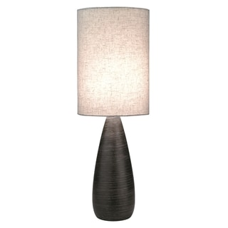 Lite Source Quatro II Slim Smooth Table Lamp