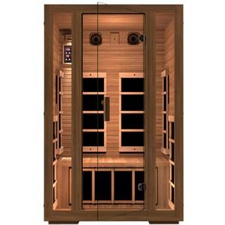 JNH Lifestyles Freedom MG201RB 2-person, Low EMF, Far Infrared, Canadian Western Red Cedar Wood Sauna