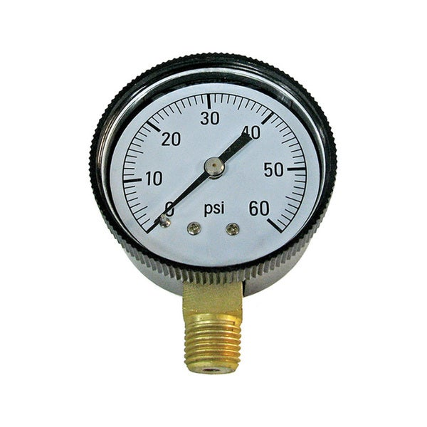 Pressure Gauge - Bottom Mounted