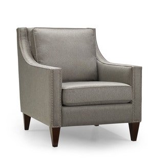 Peyton Nickel Accent Chair