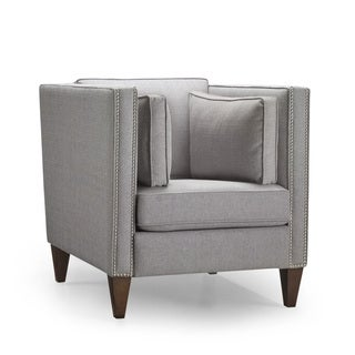 Drake Silver Accent Chair