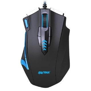 SHARKK 16,400 DPI High Precision Laser Gaming Mouse, 14 Programmable Buttons