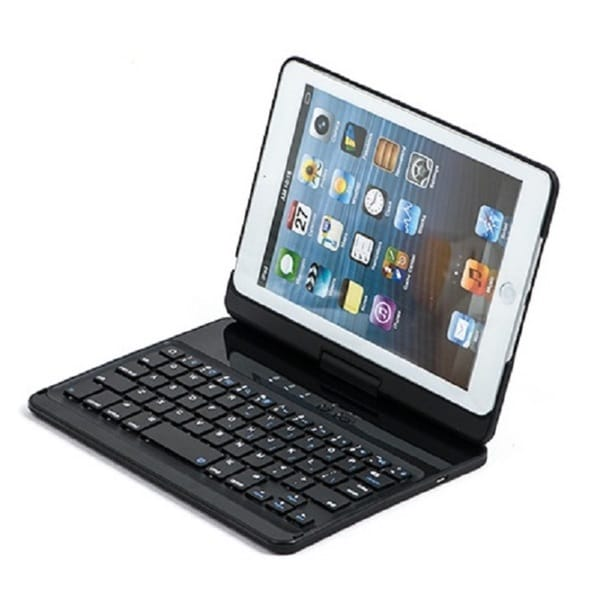 SHARKK BACKLIT Bluetooth Keyboard/Case for Apple iPad Mini, Mini 2 & Mini 3