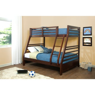 Hillsdale Furniture's Bailey Twin/Full Bunk Bed - Mission Oak Finish