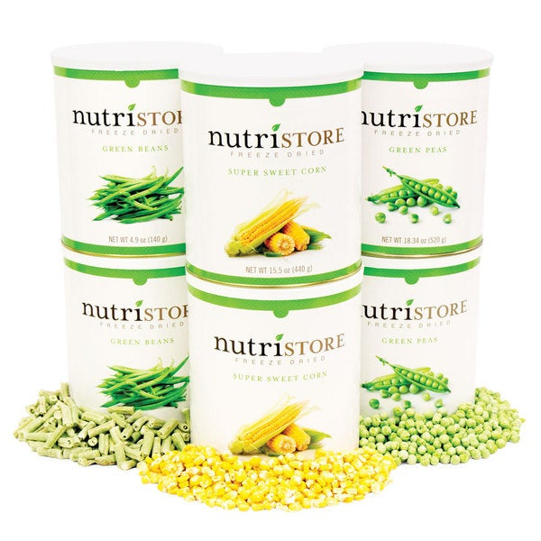 Nutristore Garden Vegetable Food Storage Variety Pack
