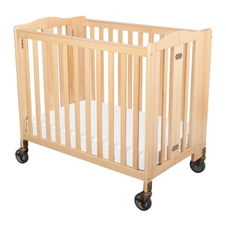 Simmons Kids ChildCare Natural Foldaway Crib