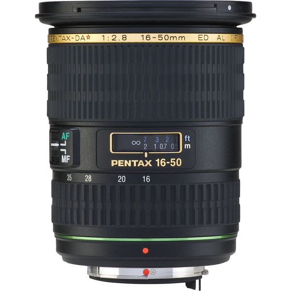 Pentax SMCP-DA* 16-50mm f/2.8 ED AL (IF) SDM Super-wide Telephoto Lens