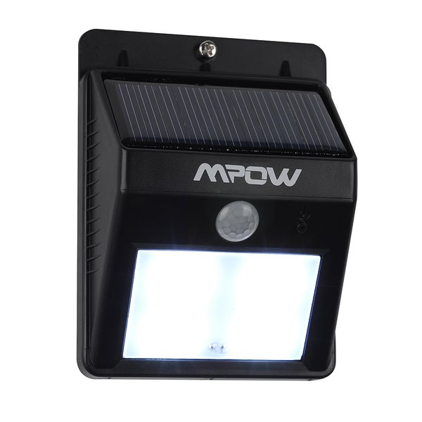 Mpow Solar Powerd Wireless LED Security Motion Sensor Light