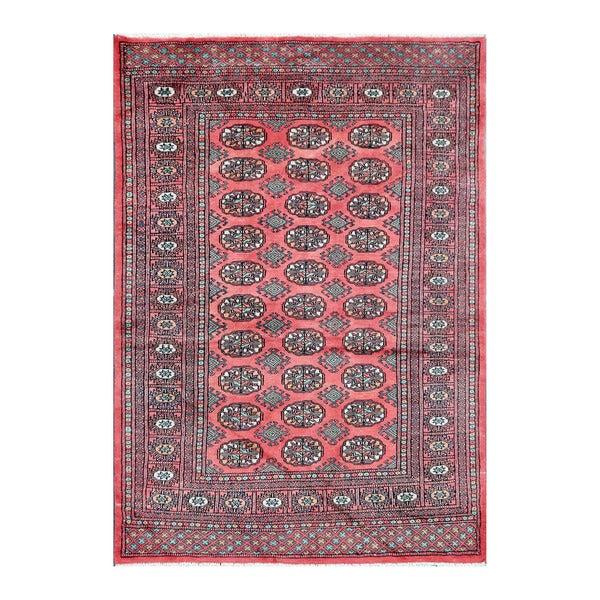 Herat Oriental Pakistani Hand-knotted Bokhara Wool Rug (4'3 x 5'11) - 4'3 x 5'11 15553089