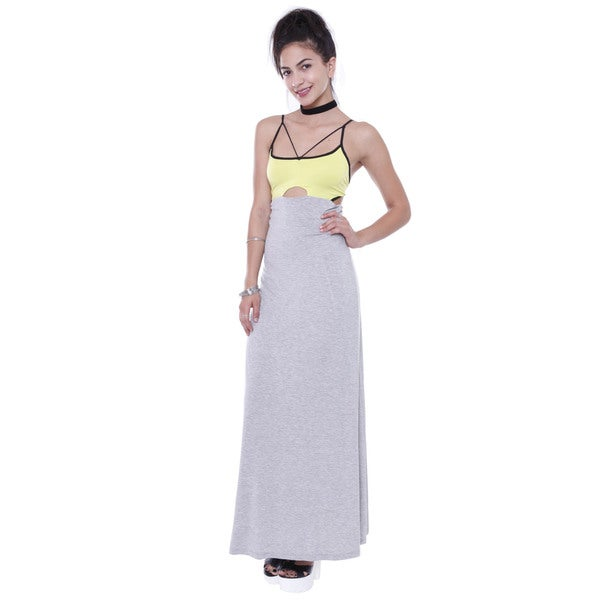 Junior's Sporty Chic Maxi Dress