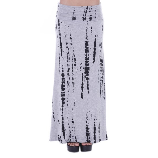 Juniors' Tie Dye Maxi Skirt