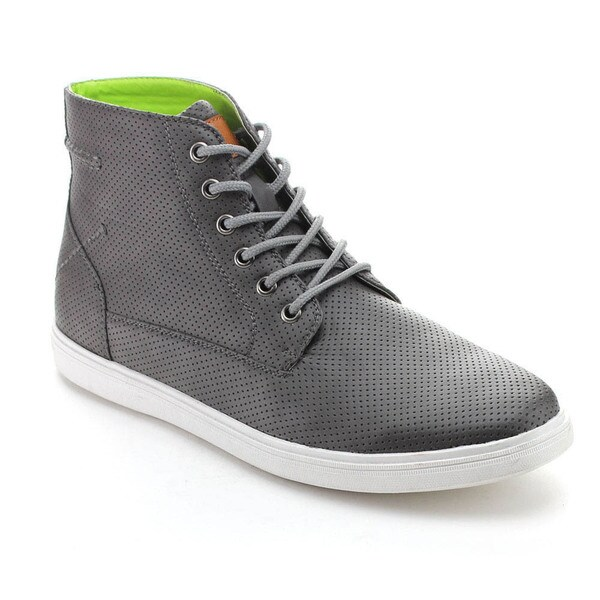 Arider CHASE-01 Men's Perforated Lace-up Casual High-Top Sneaker