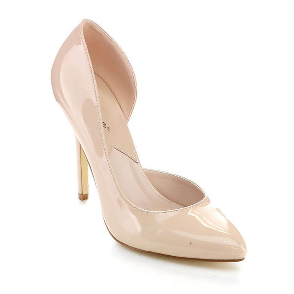Reneeze OBELIA-01 Women's Classic D'orsay Stiletto Pump High Heels