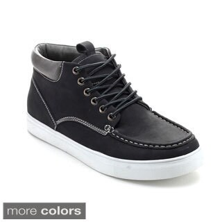 Arider BOB-02 Men's Lace-up Casual Flat Heel High-Top Sneaker