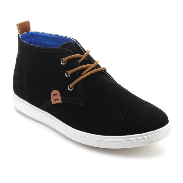 Arider CHASE-02 Men's Lace-up Suede Finish Casual High-Top Sneakers