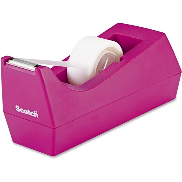 Scotch Desktop Pink Tape Dispenser