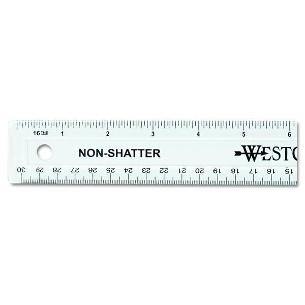 Westcott 12 inch Shatterproof Ruler