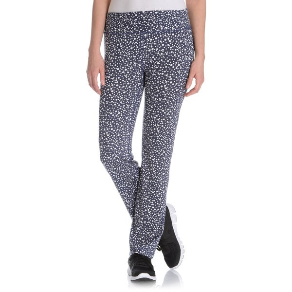 Vogo Performance Women's Confetti Dot Active Flare Pant