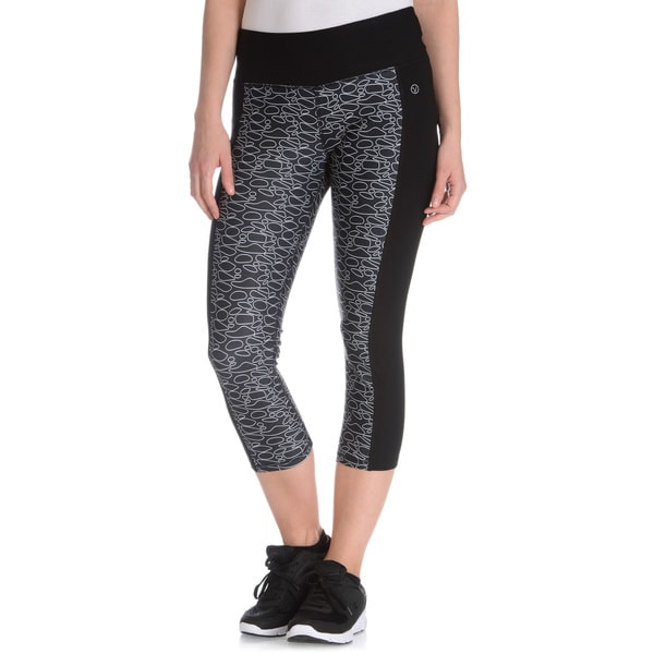 Vogo Performance Women's Geo Print Capri Legging