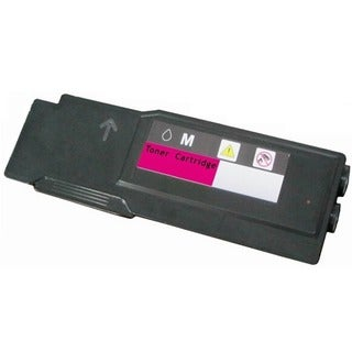 Compatible 331-8431 W8D60 Extra High Yield Meganta Toner Cartridge for Dell C3760 and C3765 Laser Printers