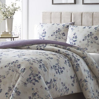 Stone Cottage Sakura Azure 3-piece Duvet Cover Set