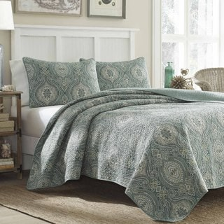 Tommy Bahama Turtle Cove 3-piece Quilt Set