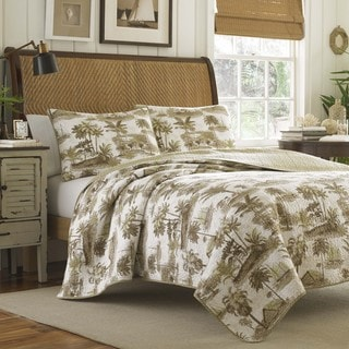 Tommy Bahama Sunset Siesta 3-piece Quilt Set