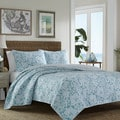 Tommy Bahama Island Memory Lagoon 3-piece Quilt Set