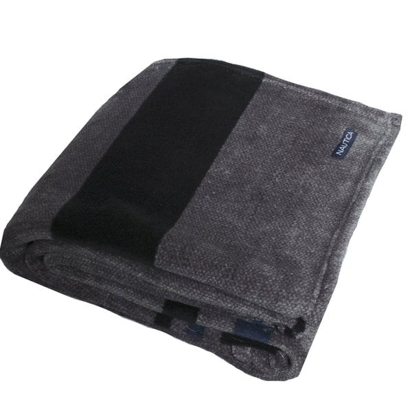 Nautica Sebec Coral Fleece Plush Blanket