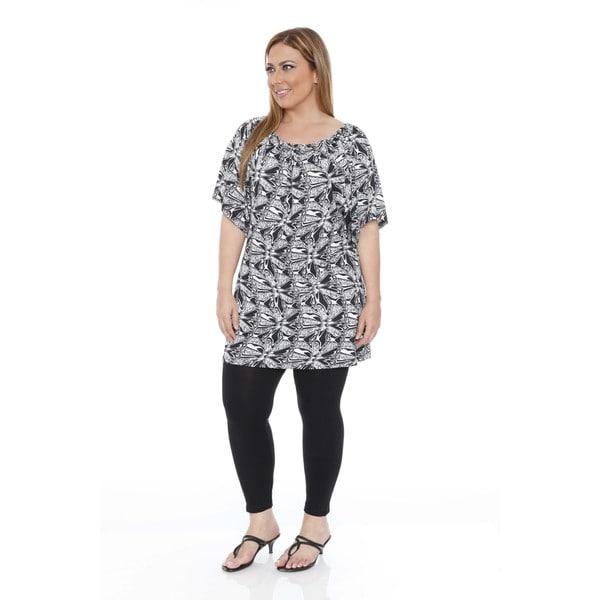 Women's Plus Size 'Thyra' Butterfly Dress Tunic