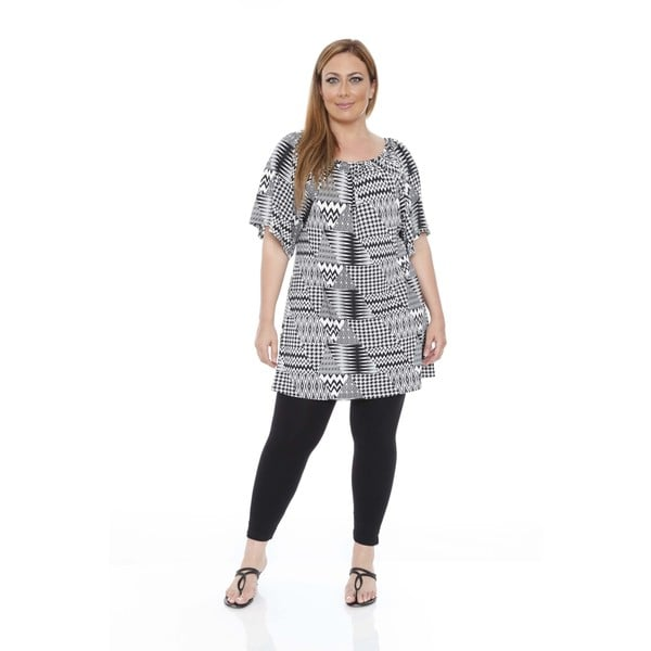 Women's Plus Size 'Thyra' Multi Dress Tunic