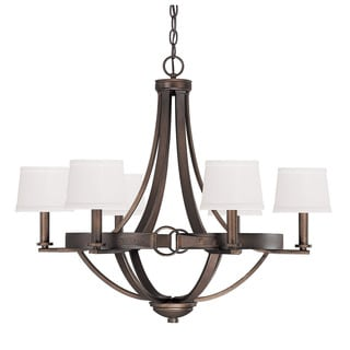 Capital Lighting Chastain Collection 6-light Tobacco Chandelier