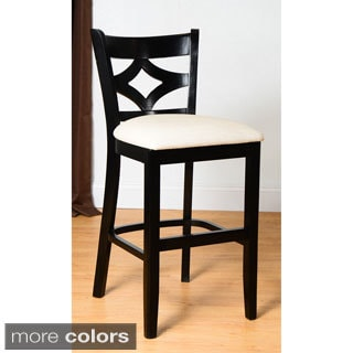 Curtain Back Counter Stool