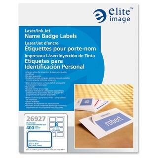 Elite Image Laser/ Inkjet Name Badge Label (Box of 400)