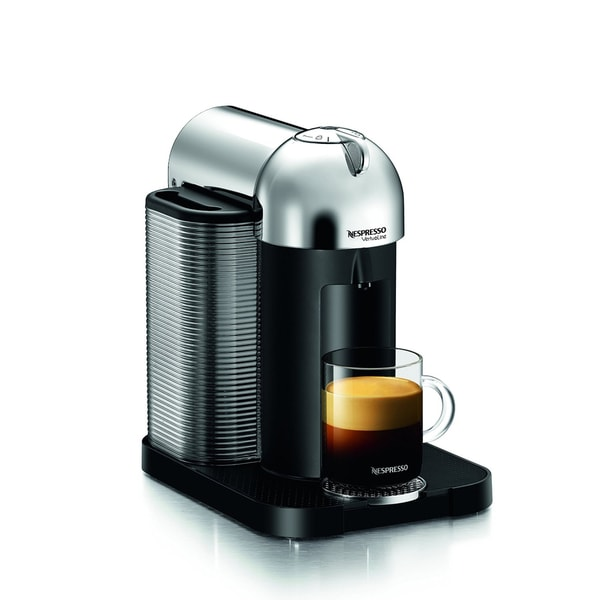 Nespresso VertuoLine Coffee and Espresso Machine (Chrome)