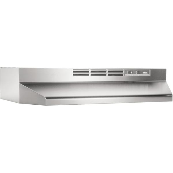 Broan NuTone Stainless Steel Non-ducted Range Hood 413004 15557474