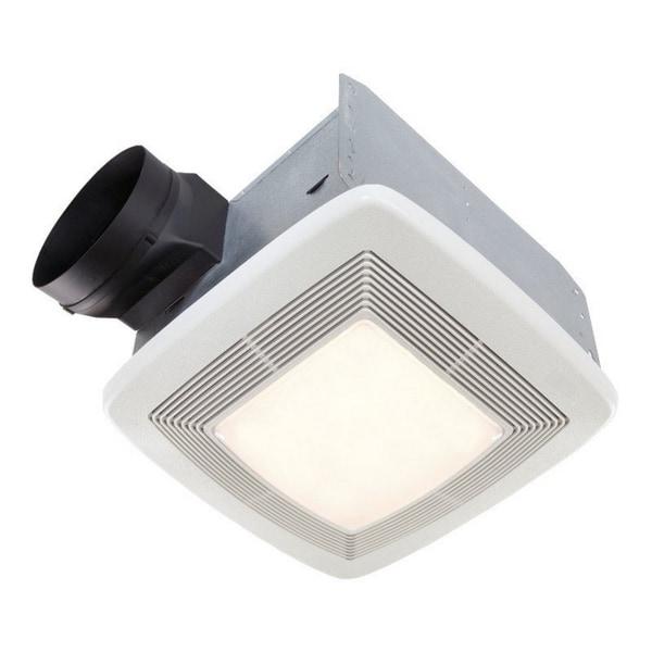 Shop Broan 0 3 Sone 110 Cfm White Bathroom Fan Energy Star: Canada