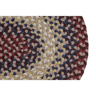 Woodbridge Braided Wool Rug (5'6 x 8'6) by Better Trends