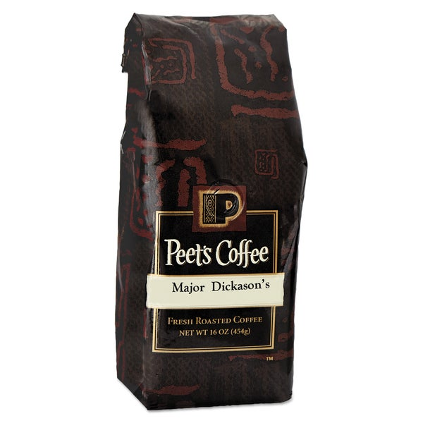 Peet's Coffee & Tea Bulk Major Dickason's Blend Ground 1 lb Bag Coffee