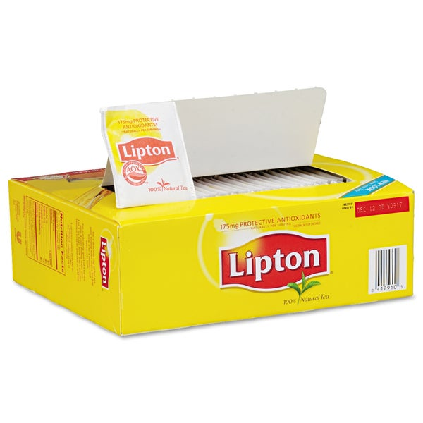 Lipton Regular Tea Bags 100/Box