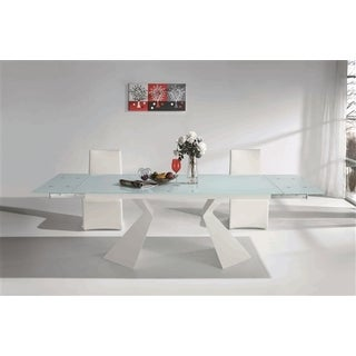 Casabianca Home Tuscany Collection Glass Dining Table