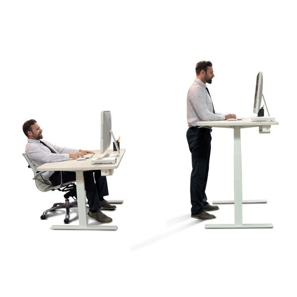 Diy Kit Standing Desk With Automatic Height Adjustable Sit